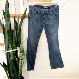 7 FAM Lexi A pocket denim jeans sz 29